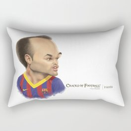 Andres Iniesta - Barcelona Rectangular Pillow