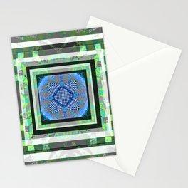Feng Shui Meditation Mandala Forest Spring Water Stationery Cards