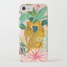 Cheetah Crush iPhone Case