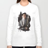 moriarty Long Sleeve T-shirts featuring Moriarty by C. Tyler
