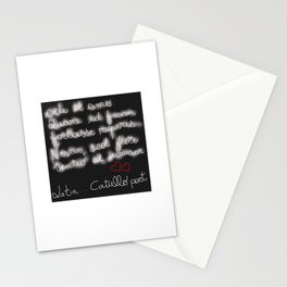 Latin Poetry Stationery Cards