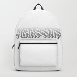 Black and White Marseille Backpack