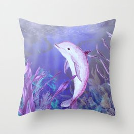 Underwater World **3 Throw Pillow