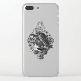 Vulture Clear iPhone Case