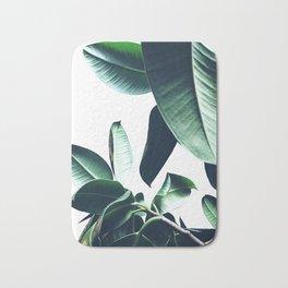Ficus Elastica #26 #foliage #decor #art #society6 Bath Mat
