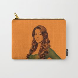 Ileana D Cruz - Celebrity (Florescent Color Technique) Carry-All Pouch