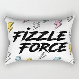 Fizzle Force Lightning Bolt Rectangular Pillow