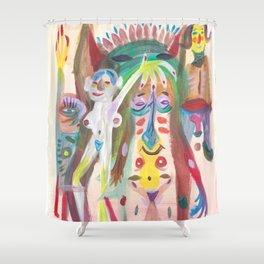 Orgy Shower Curtain