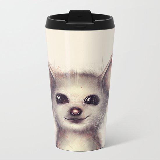What the Fox? Metal Travel Mug