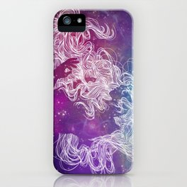 Galaxy Gal iPhone Case