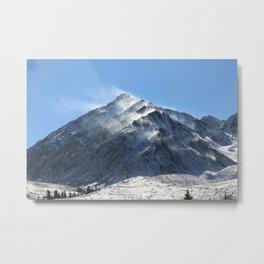 Mammoth Mountains Metal Print