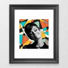 AUDREY HEPBURN 3 Framed Art Print