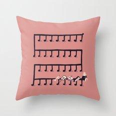 Music Maestro Throw Pillow