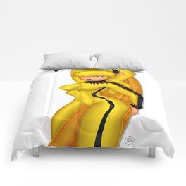 Hot Banana Comforters
