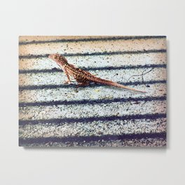 The Lizard Metal Print