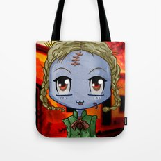 Chibi Zombie Tote Bag