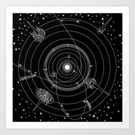 Astrum Art Print