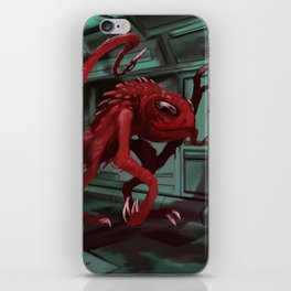 Space Monster iPhone Skin