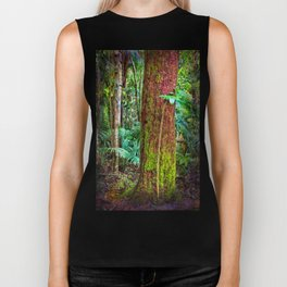 New and old rainforest growth Biker Tank