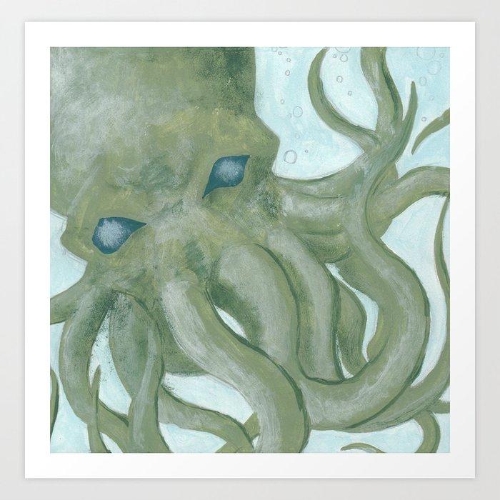Dodecapus!? Art Print