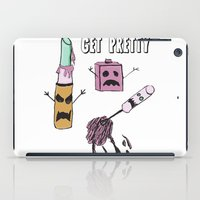 makeup iPad Cases featuring Zombie Makeup by Carrillo Art Studio