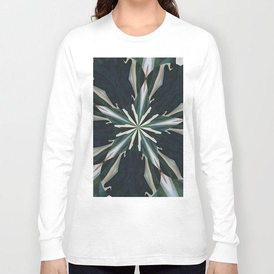 Calla Lily Star Kaleidoscope Long Sleeve T-shirt