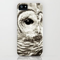 Wise Old Owl iPhone (5, 5s) Slim Case