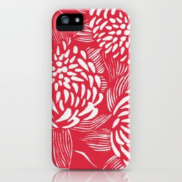 Waratahs Red iPhone Case