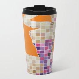 Pixelated Pin Up-Zelda Fan Art Metal Travel Mug
