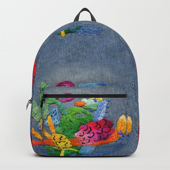 abstract embroidery by embroiderrred