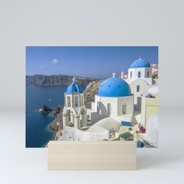 Santorini, Oia Village, Greece Mini Art Print