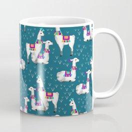 Watercolor llamas Coffee Mug