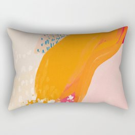 The Abstract Shape Of Spring Rectangular Pillow