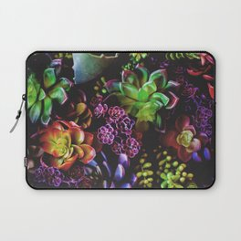 Colorful Succulent Plants Laptop Sleeve