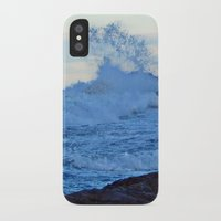 geology iPhone & iPod Cases featuring Exploding Surf  by DanByTheSea