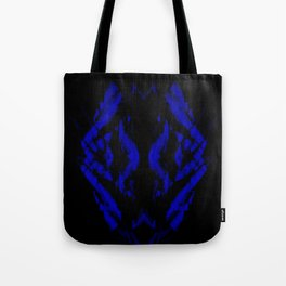 a black and blue snake Tote Bag