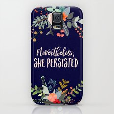 Nevertheless, She Persisted Galaxy S5 Slim Case