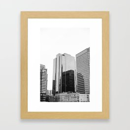 Boston Rooftop Views Framed Art Print