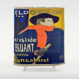 Vintage poster - El Dorado Shower Curtain