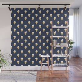 Meowlting Pattern Wall Mural