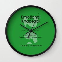 Emotional Knapsack - Friends Wall Clock