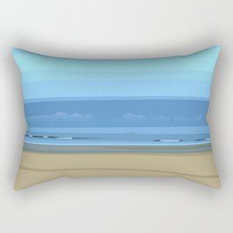 Seascape I - Kijkduin Rectangular Pillow