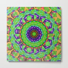 Irish Mandala Metal Print