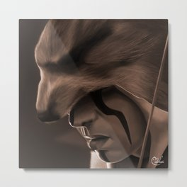 Connor Kenway Assass'ins creed 3 Metal Print