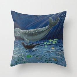 Luna & London Throw Pillow