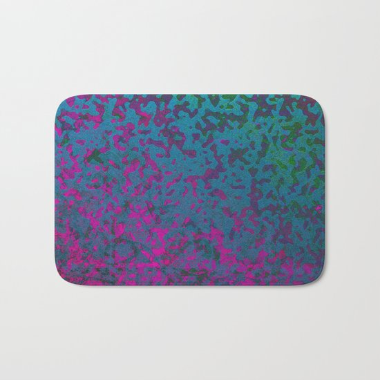 Colorful Corroded Background G296 Bath Mat
