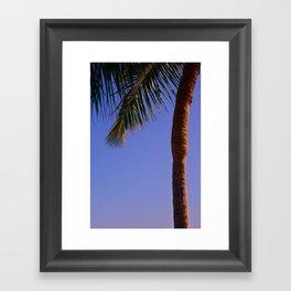 Simply Paradise Framed Art Print