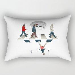 stranger thing the beatle Rectangular Pillow
