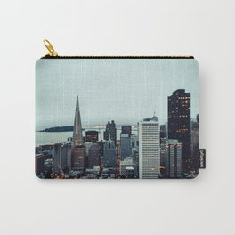 San Francisco Financial District Carry-All Pouch