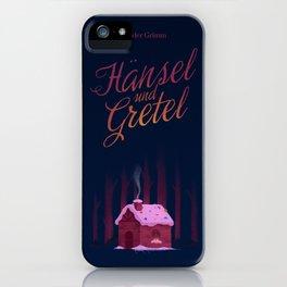 Hansel und Gretel iPhone Case